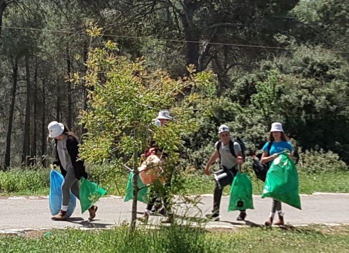 מבצע מחוזי: מדריכים צעירים מכל הצפון ניקו פארקים במגדל העמק 2