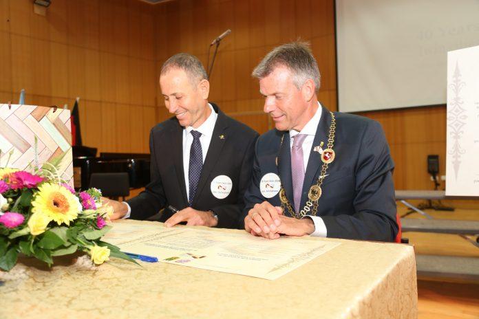 40 שנה לברית ערים תאומות בין עכו לרקלינגהאוזן 2