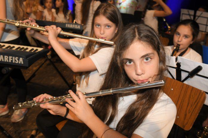 למעלה מ 200 נגנים במופע קונצרט סיום שנת פעילות הקונסרבטוריון העירוני של נצרת עילית 2