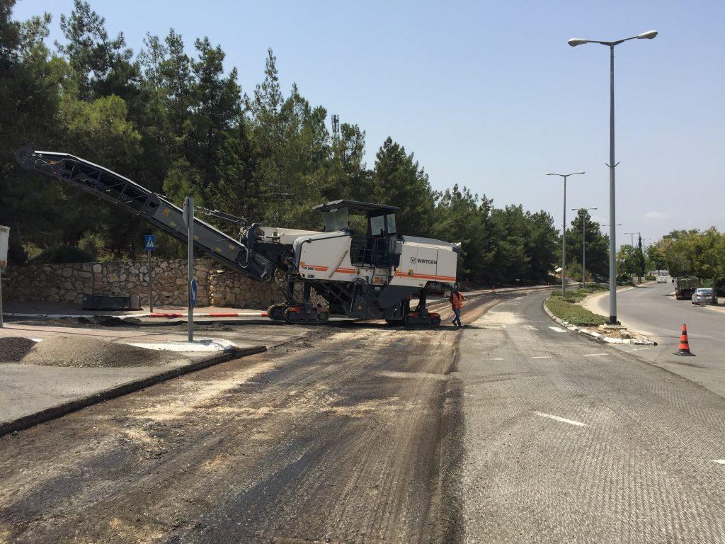 מהפיכת כבישים בנצרת עילית