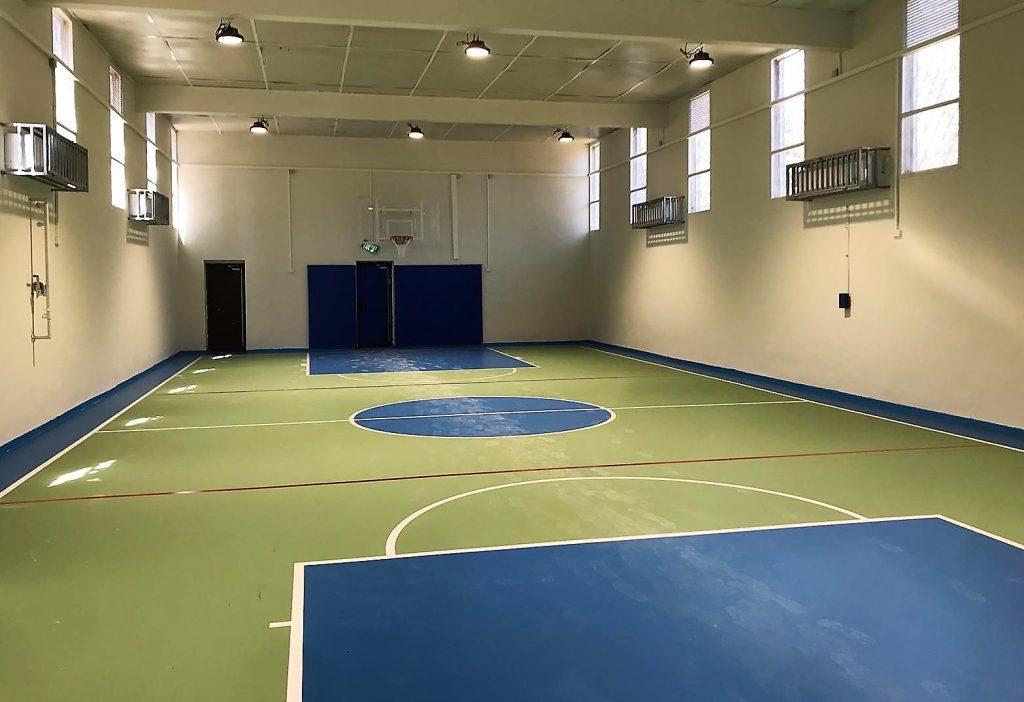 : שודרגו מתקני ספורט בבתי ספר