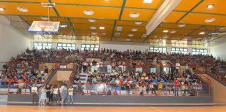 """אולם ספורט מחודש לתלמידי """"אלון"""""""