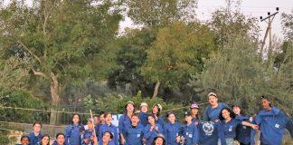 """""""מחנות העולים"""" במגדל העמק פתחו את השנה עם גיבוש וטקס השבעה מרגש"""