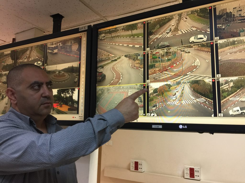 98 מצלמות אבטחה חדשות  ברחבי נצרת עילית