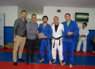 ספורטאי מועדון הג'ודו בנצרת עילית זכו להתאמן יחד עם האלוף האולימפי בסלן מודראנוב