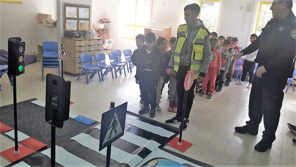 שוטר בגן הילדים