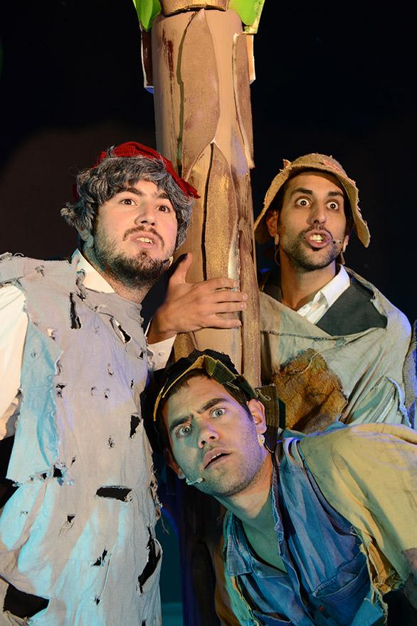 'הקמצן שהפך לקבצן' של תיאטרון אספקלריא