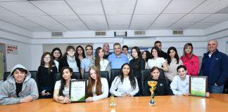 שני בתי ספר ממגדל העמק זכו בתחרות ארצית בפיזיקה