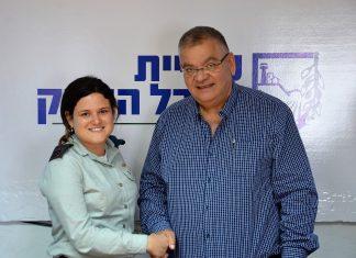 זוכת ה'פרס לביטחון ישראל'