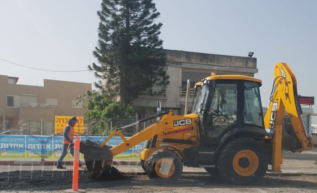 """אגף שפ""""ע של עיריית עפולה יצא במבצע ניקיונות חסר תקדים"""