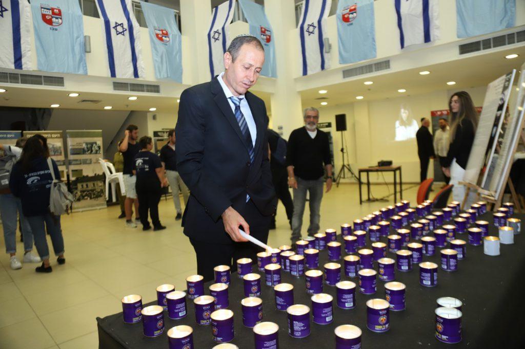 עצרת זיכרון לשואה ולגבורה נערכה בעכו