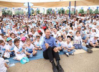 ילדי העיר עכו חגגו 71 שנה לעצמאות ישראל
