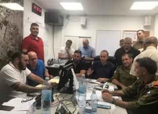 עיריית עכו השתתפה היום בתרגיל חירום רשותי שהוכתר בהצלחה