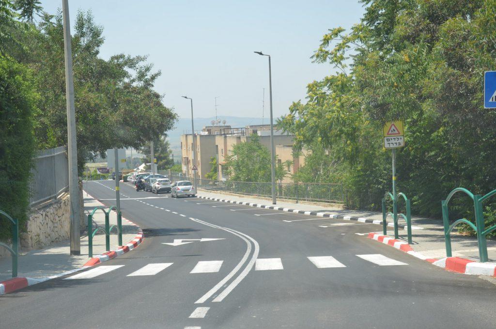 פרויקטים סלילת הכביש ברחוב עובדיה יוסף והחלפת קווי המים והביוב באזור התעשייה הדרומי הגיעו לסיומם