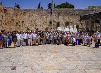 50 שורדי שואה חגגו את הטקס המרגש בעיר הבירה