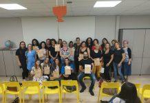 טקס סיום של סדנת מחזור ו' של תכנית מיפנה מסאר נוף הגליל בנצרת עילית
