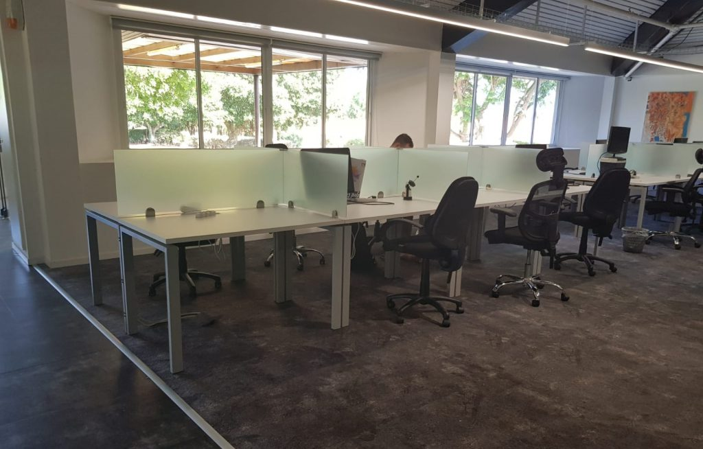 HUB חדשני בתוך הספרייה