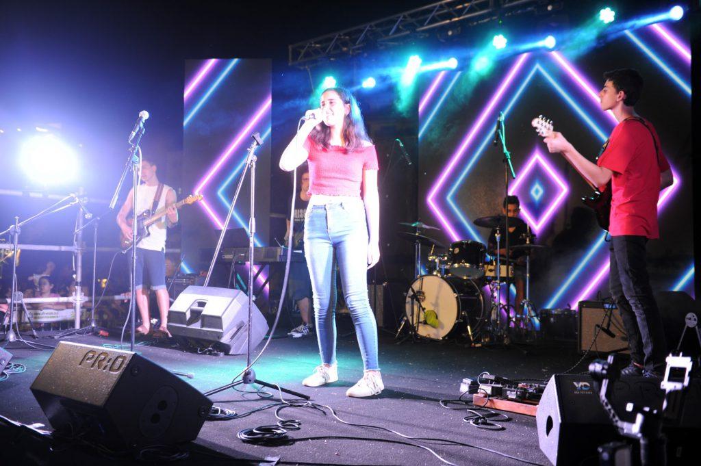 בני הנוער בעפולה הצליחו להפיק אלבום שירים
