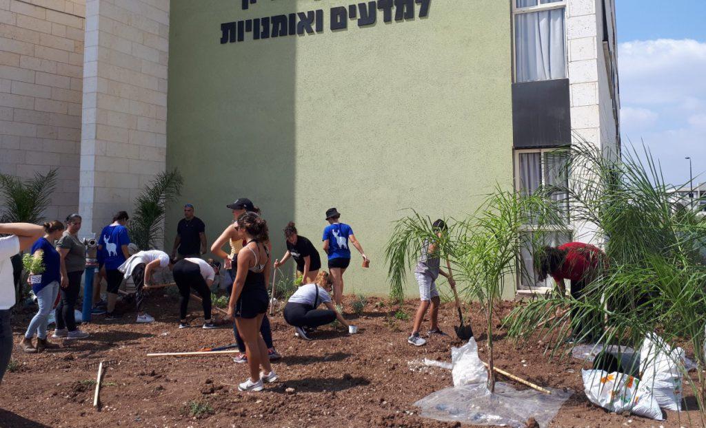 הגינה של המתנדבים מדרום אמריקה