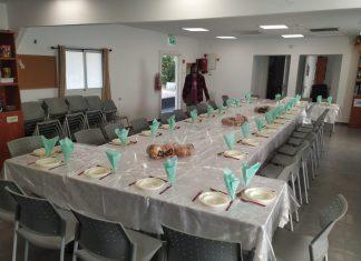 משפחות הגרעין מתנדבות להכין את מיטב המאכלים בשמחה רבה