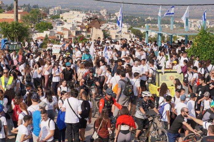 אלפי משתתפים בצעדה המסורתית