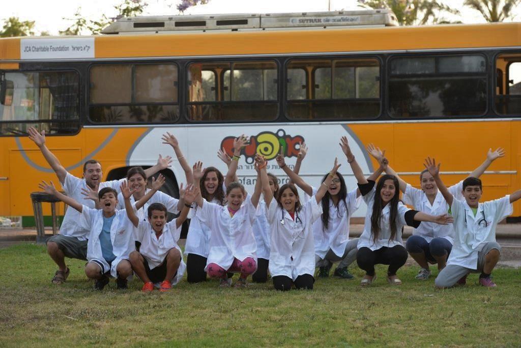 התלמידים ייהנו גם השנה מפעילות מדעית וטכנולוגית באוטובוס של 'אופנים'