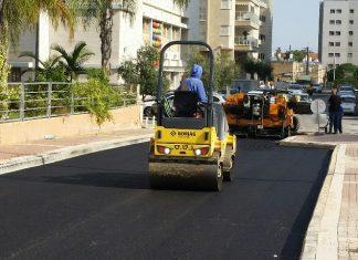 4 מיליון שקלים הושקעו בסלילת כבישים ברחבי העיר