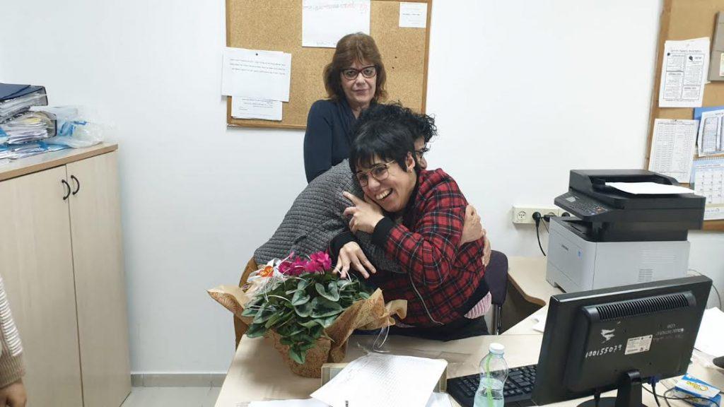 הפתעה מרגשת לריטה חנא לרגל יום הזכויות הבינלאומי לאנשים בעלי צרכים מיוחדים