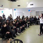 סטודנטים מעפולה במרכז צעירים העירוני