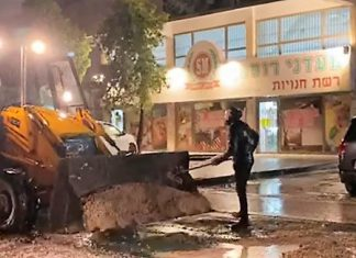 עובדי עיריית עפולה טיפלו בעשרות פניות בשל נזקי הגשמים