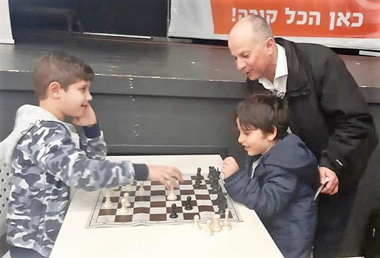 אליפות השחמט הפתוחה בעפולה