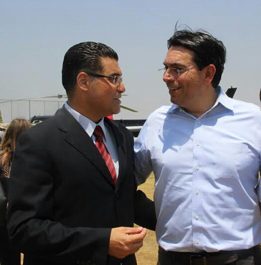 השגרירים, שגריר ישראל באו''ם דני דנון בחברת נאיל בכפר נין. נכס אסטרטגי.