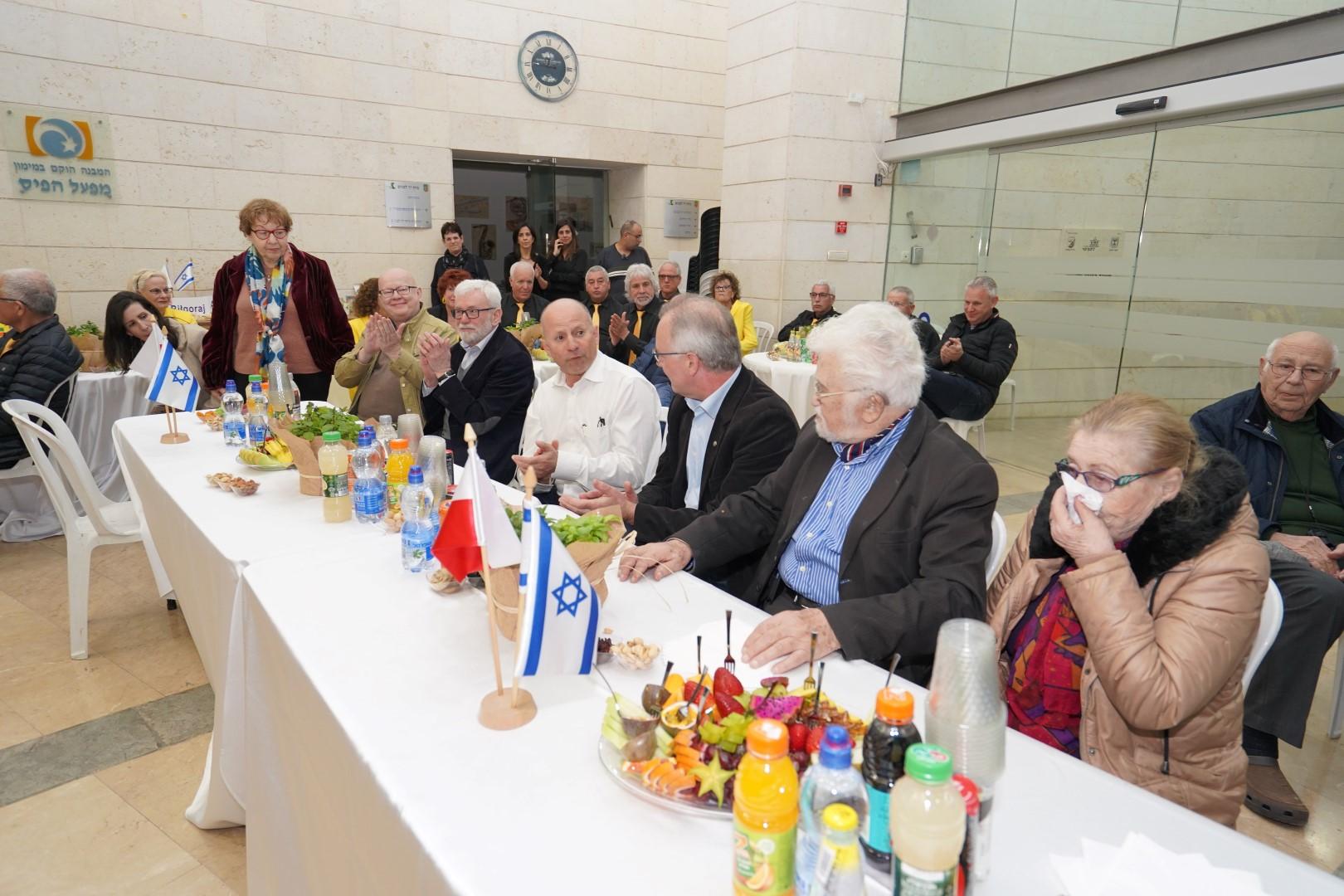 ברית ערים תאומות בין עפולה לבילגוראיי מפולין מציינת עשור