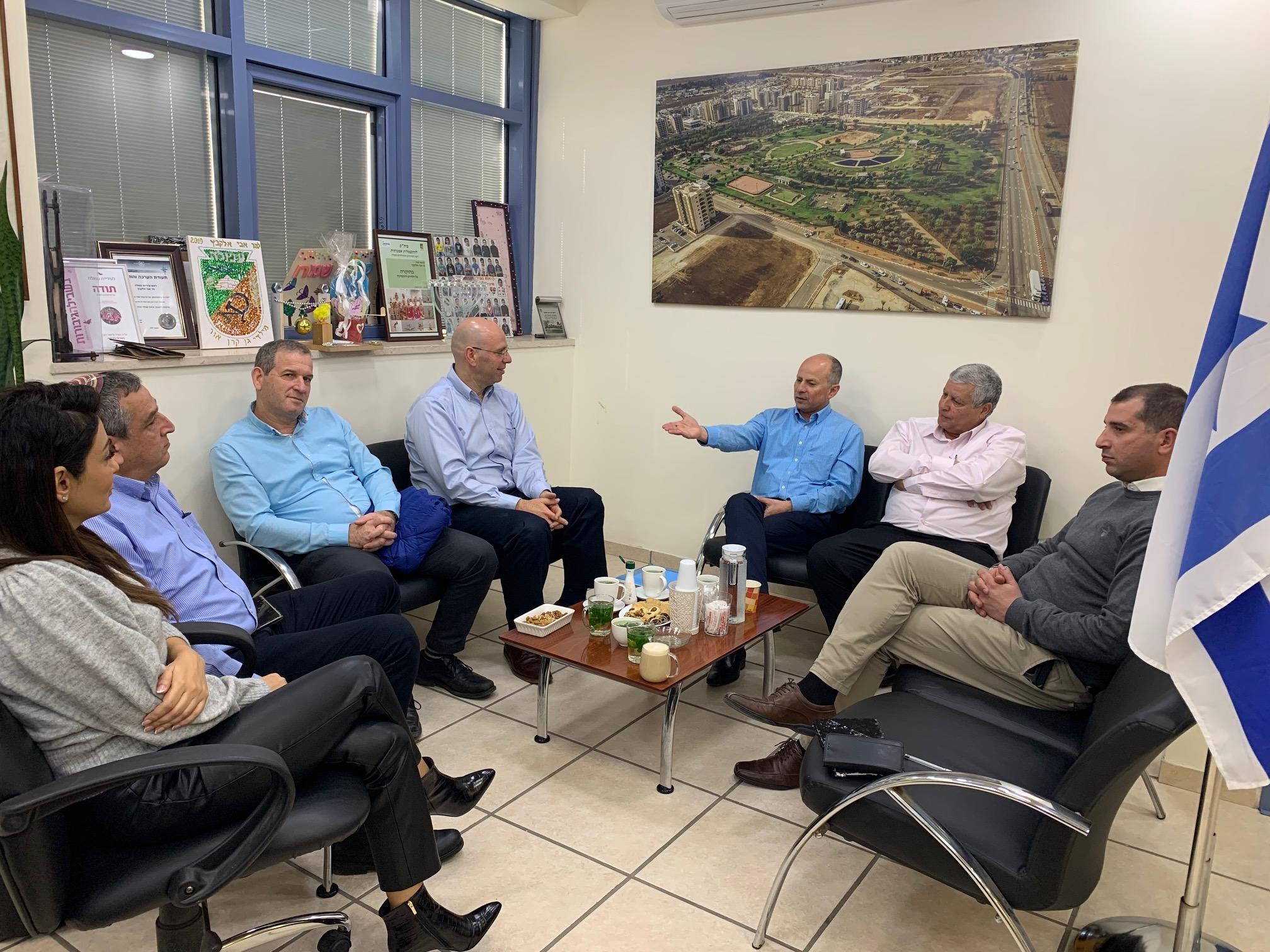 עיריית עפולה ובית חולים 'העמק' מקדמות שיתופי פעולה