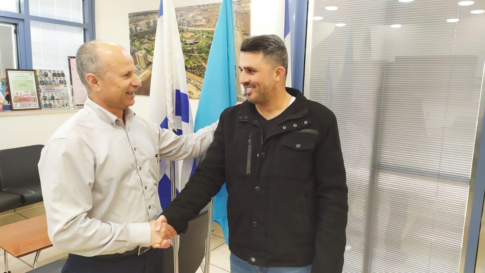 חבר המועצה מטעם סיעת הליכוד מוטי אלוש הצטרף לקואליציה