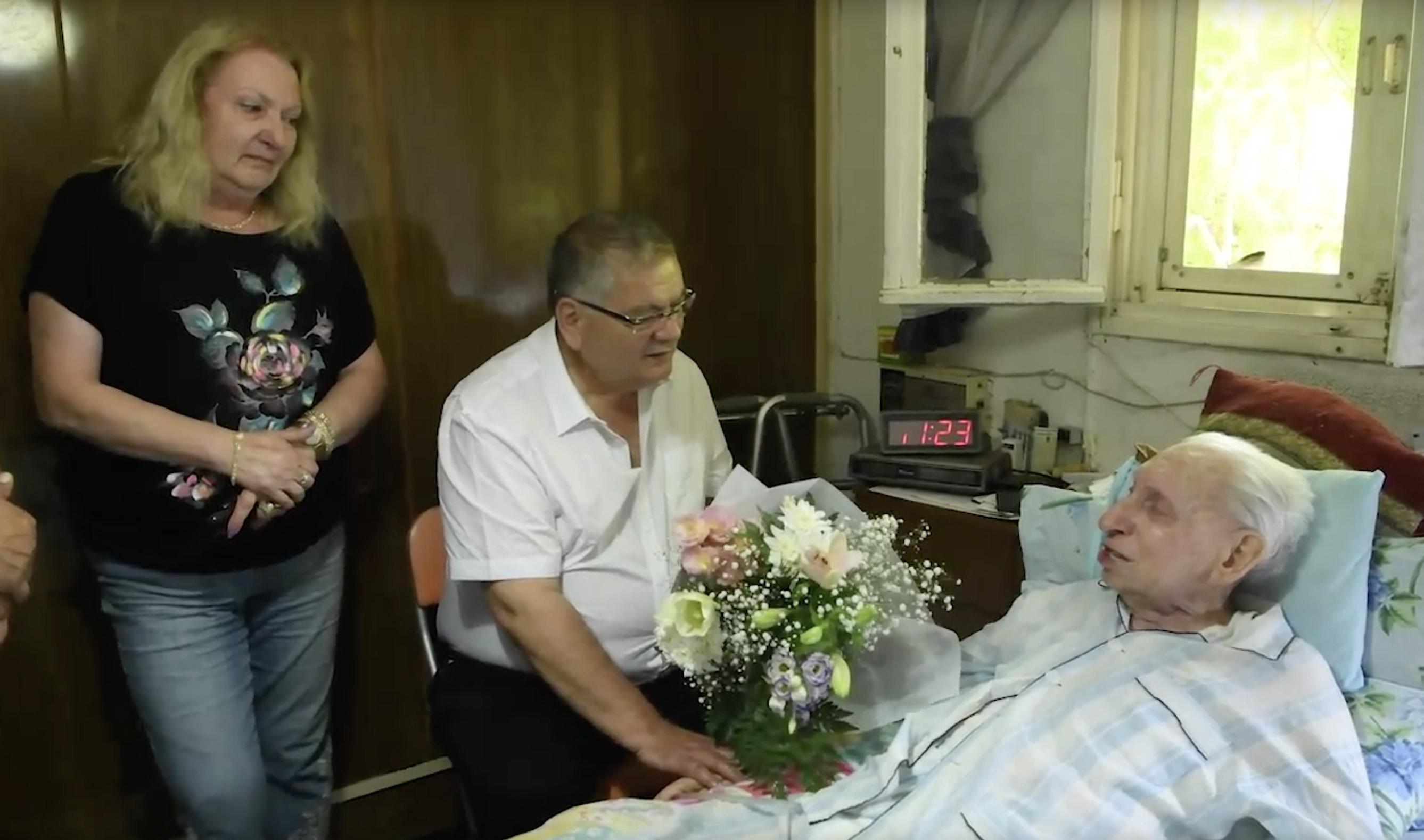 הנריך בריקמן הלך לעולמו בגיל 98