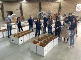 KLA ממגדל העמק תרמה 150 סלי מזון