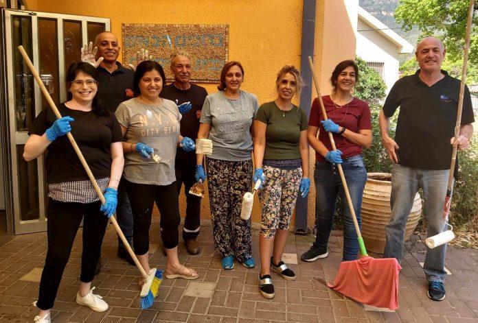 המשך פרויקט עבודות השיפוץ בבית הקשיש בקרית שמונה