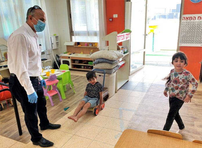 עיריית עפולה פתחה שמרטפיות לילדי עובדי מערכת החינוך