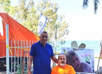 אלון מאורי עם חיים סתתיהו מנכל תיירות עין גב