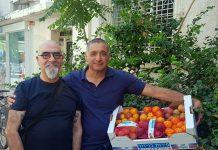 ירון בלחסן מנכל ארגון מגדלי הפירות בישראל ושף ישראל אהרוני
