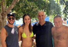 """איש התקשורת סמיון גרפמן וניקול רזניקוב מריאלטי 'השורדים' בילו בסופ""""ש בחוף גופרה"""