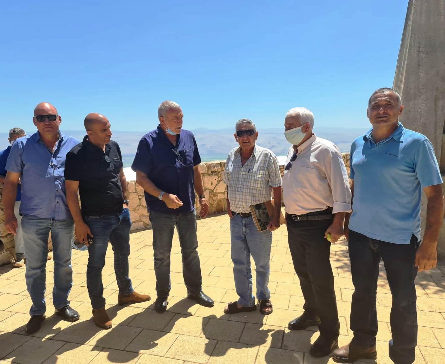 שר החקלאות ופיתוח הכפר בסיור מקצועי ראשון בגבול הצפון