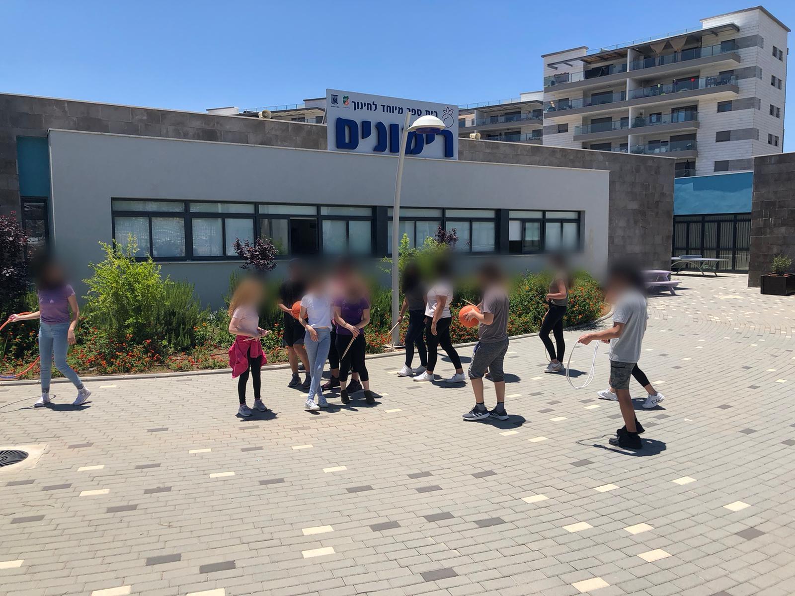 בית ספר 'רימונים' בעפולה חוגג עשור