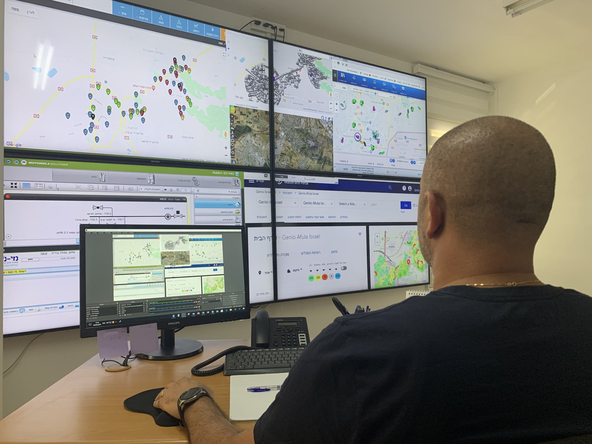 מרכז שליטה ובקרה עירוני