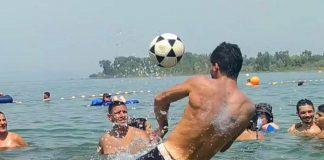 כדורגל בכינרת