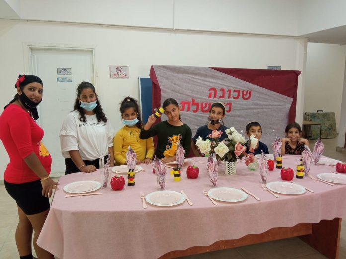 סדנת עיצוב שולחנות לכל המשפחה בעיר בית שאן