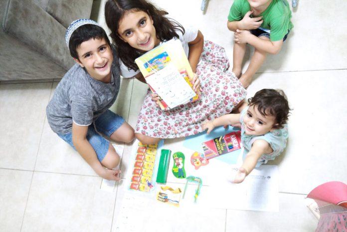 מגדל העמק: מאות ערכות משחקים חולקו לילדים חיוביים לקורונה