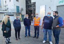 """הנהלת """"צמח תערובות"""" מקבוצת מפעלי עמק הירדן, ארחה השבוע את עורכי ירחוני החקלאות הבכירים"""
